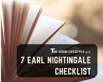 7 Earl Nightingale Checklist Photo