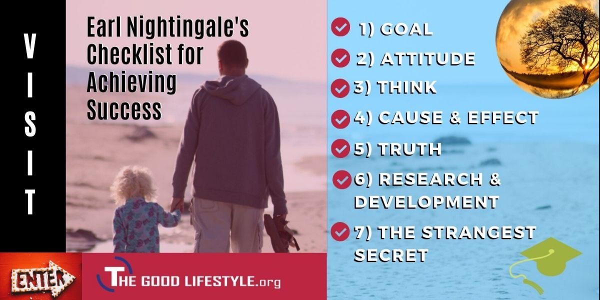 Earl Nightingale's Checklist for Achieving Success