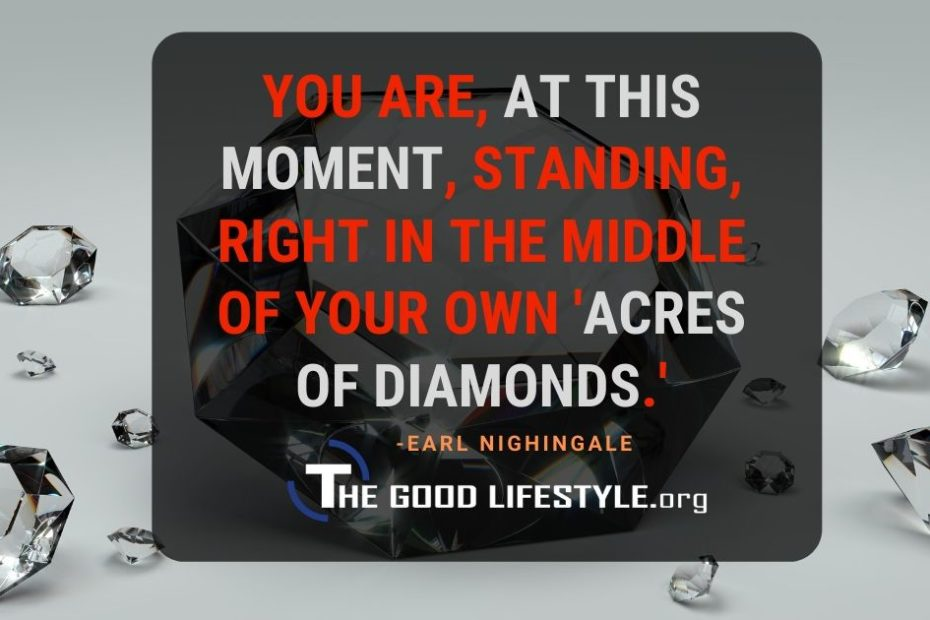 You Are At This Moment Quote By Earl Nightingale   The Good Lifestyle.org